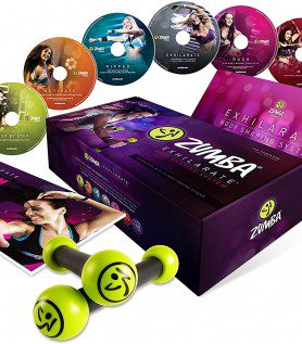 Coffret cadeau Zumba « Fitness Exhilarate »