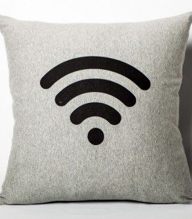 Coussin Wi-Fi