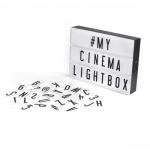 Lampe - Cinema Lightbox