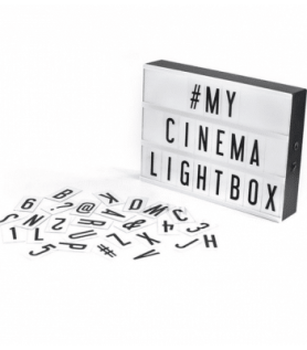 Lampe – Cinema Lightbox