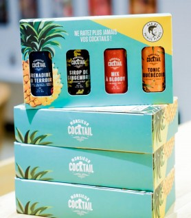Coffret Aventurier – Sirops à cocktail