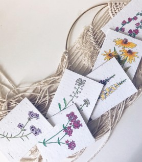 Flowerink – Carte de souhaits à planter