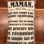 Coussin - Maman